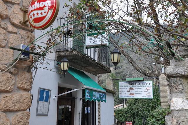Restaurante Bar «El Control» | Burunchel, Jaén
