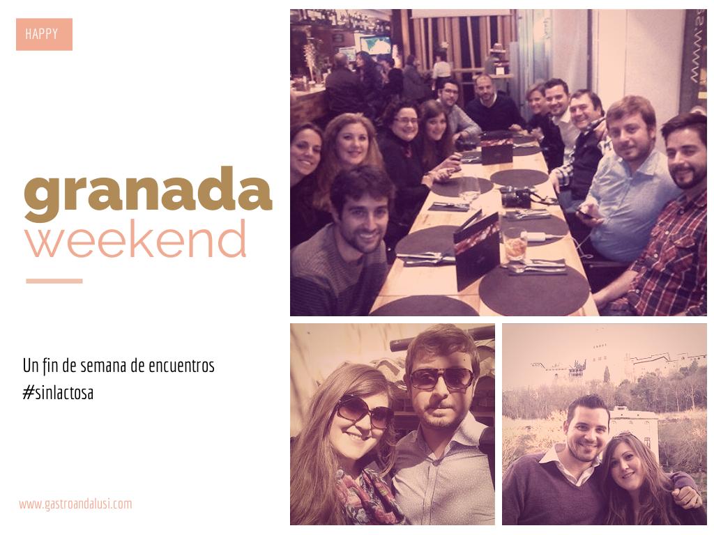 Un fin de semana de encuentros SIN LACTOSA en Granada