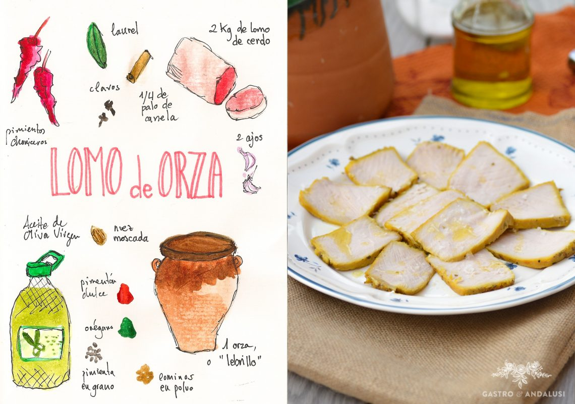 Lomo de orza Receta típica de Jaén