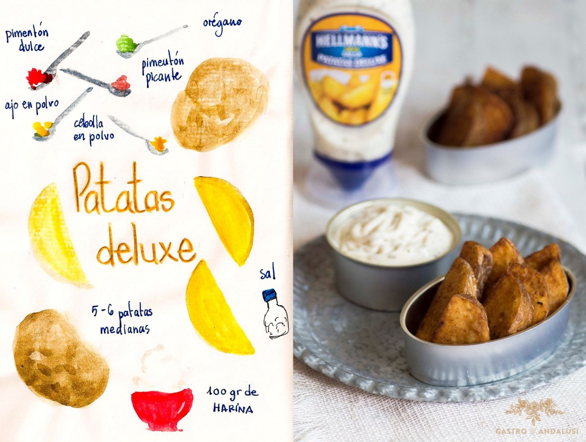 Patatas deluxe como las de McDonald´s