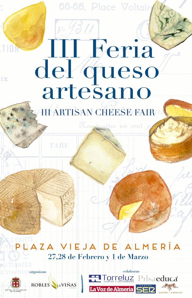 III Cartel feria del queso ALMERIA