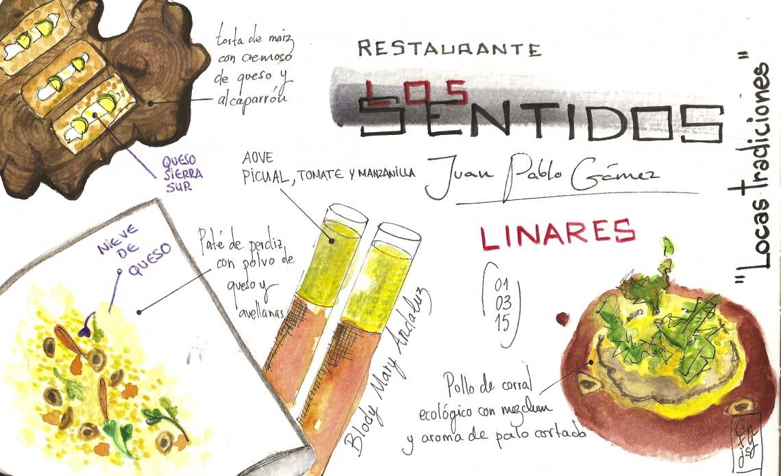 Restaurante Los Sentidos   Linares (Jaén)