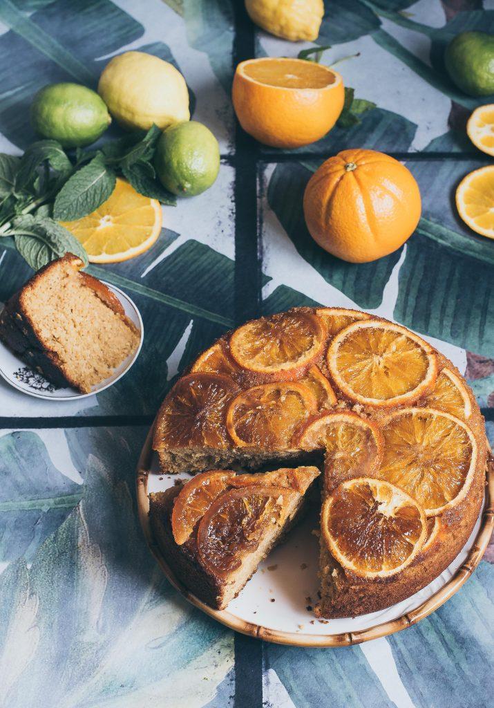 Bizcocho naranja confitada
