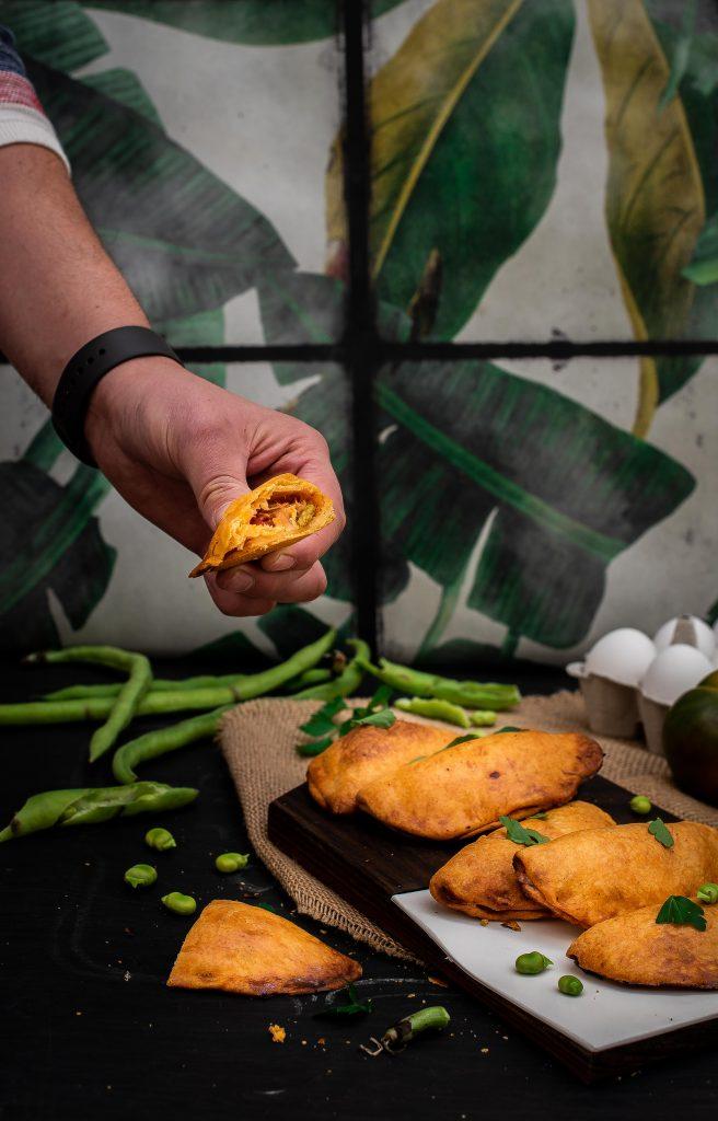 receta empanadillas de vigilia Baeza