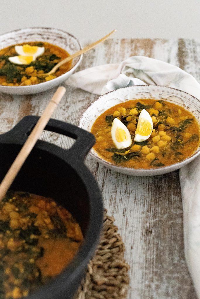 receta de potaje carmelitano cuaresma jaén
