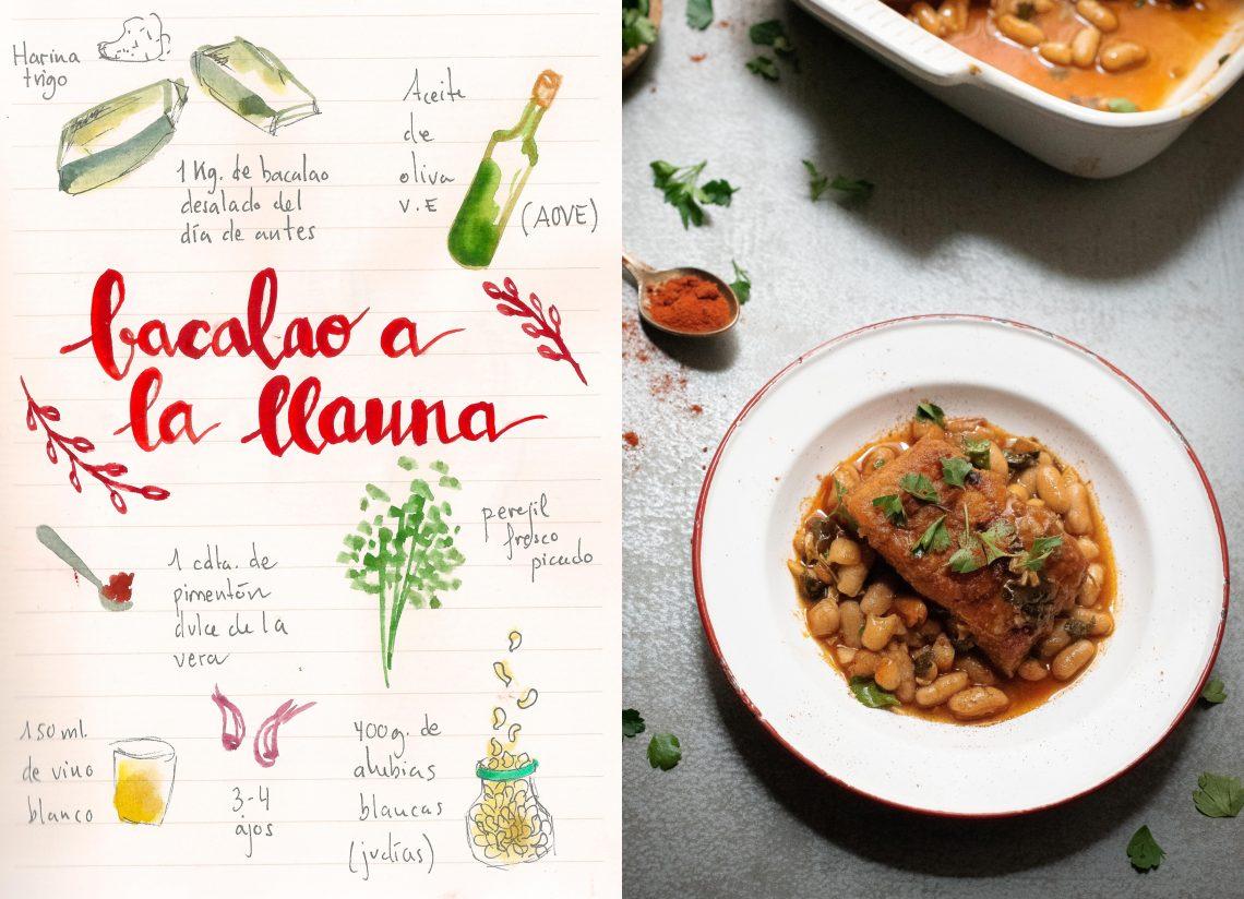 Bacalao a la llauna | Plato tradicional de la cocina catalana